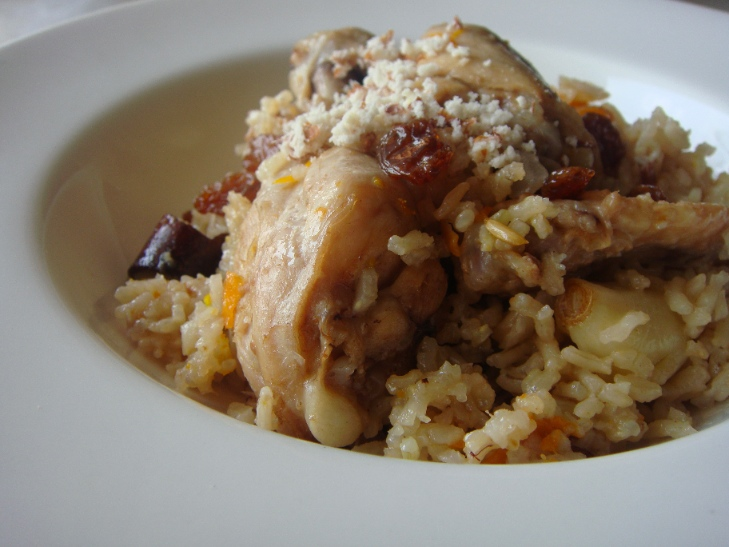 Chicken Kabsa - Arabic Rice Dish | JustAsDelish.com