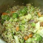 Korean Vegetable Japchae (Stir Fry Sweet Potato Noodle)
