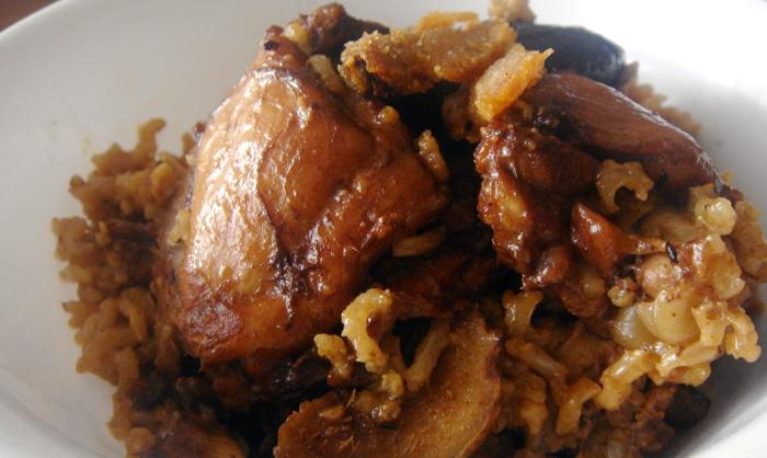 Claypot Chicken Rice - Without Claypot | JustAsDelish.com