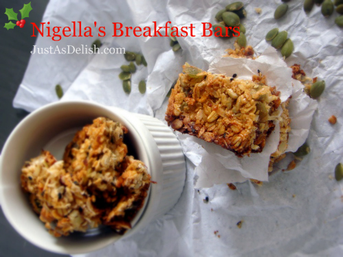 Nigella's Breakfast Bar