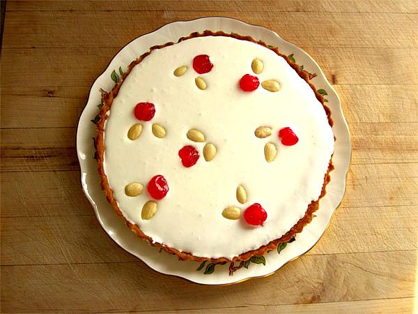 Cranberry Bakewell Tart