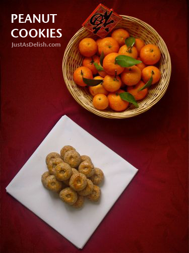 Peanut cookie chinese new year peanut cookies justasdelish peanut cookies are my favorite traditional chinese forumfinder Choice Image