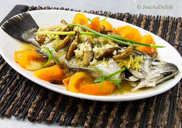 Fish steaming recipes