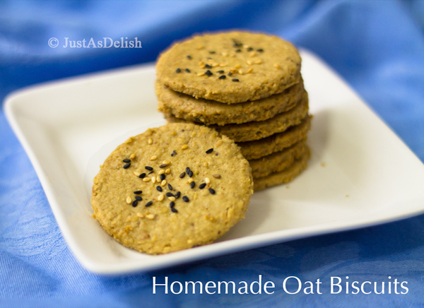 Homemade Oat Biscuit