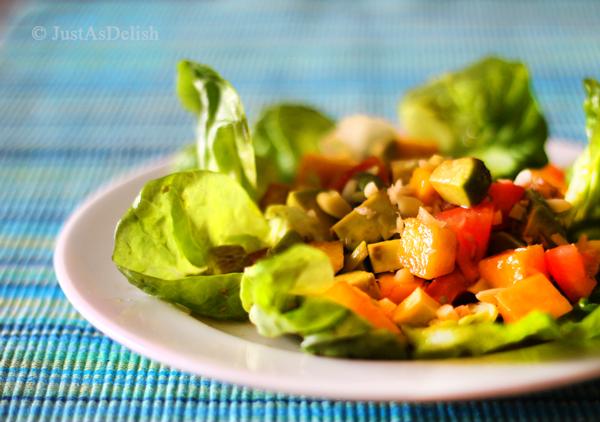 Hawaiian Salad @JustAsDelish
