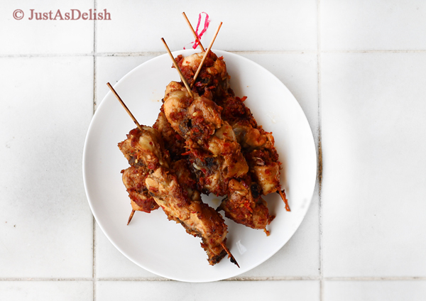 Kay Pachok (Skewered Chicken)