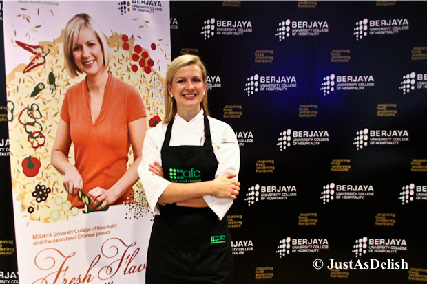 Anna Olson on Fresh Flavours tour