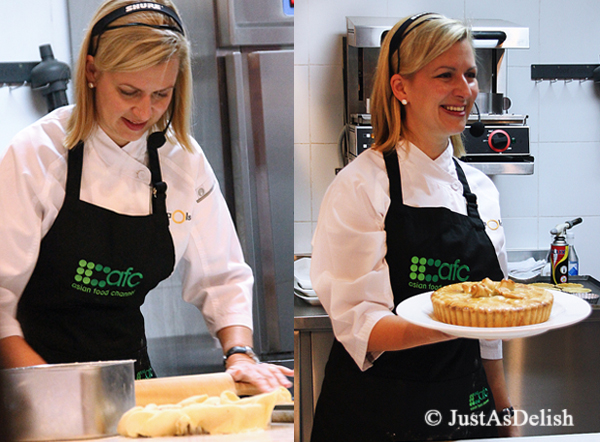 Anna Olson making Tourtiere