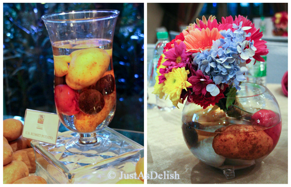 Potato Table Decor