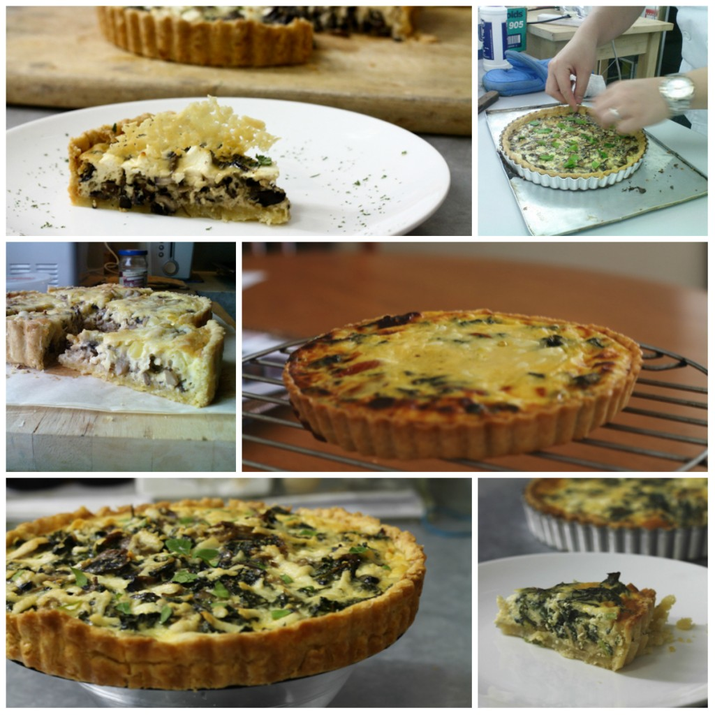 quiche collage