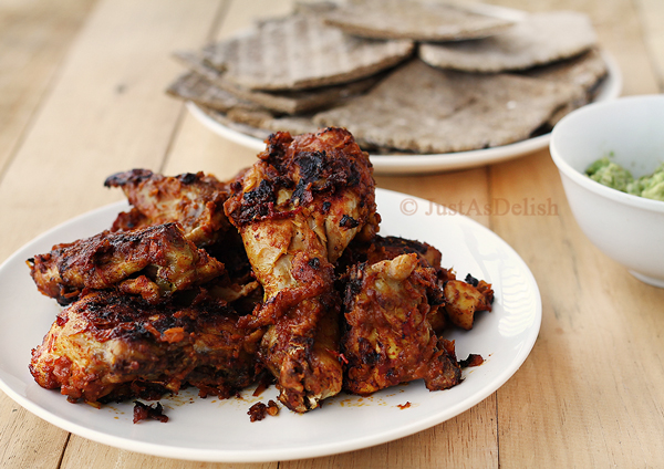 Ayam Golek Gaya Pahang (Spicy Grilled Chicken)