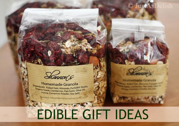 Edible Gift Ideas
