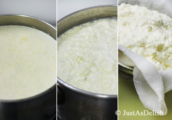 Homemade Ricotta Cheese-2