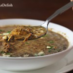 Ayurvedic Tomato Spinach Dal Soup (Tomato Spinach Lentil Soup)