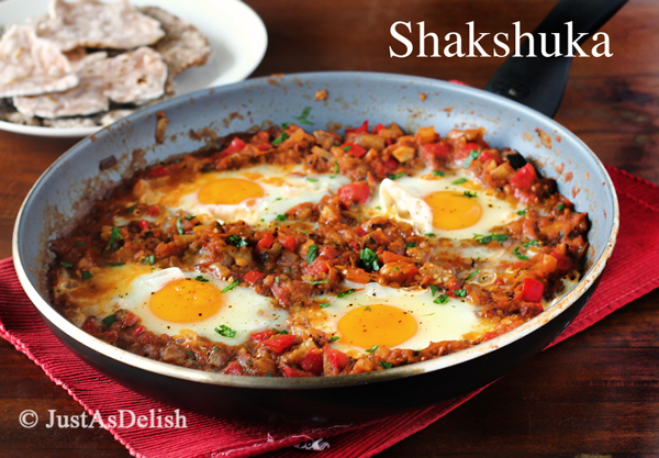 Shakshuka (Eggs Poached in Tomato Sauce)