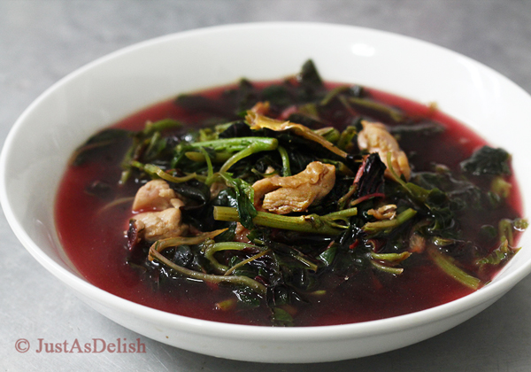 Chinese Spinach Soup