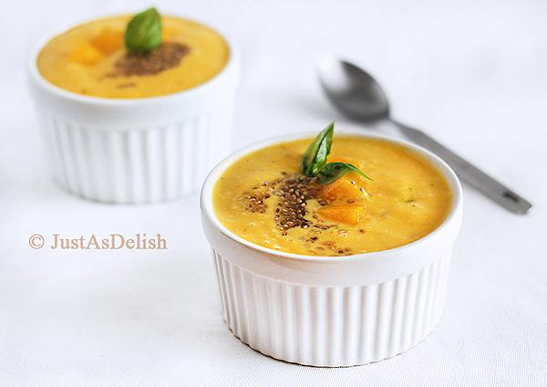 Mango Chia Dessert