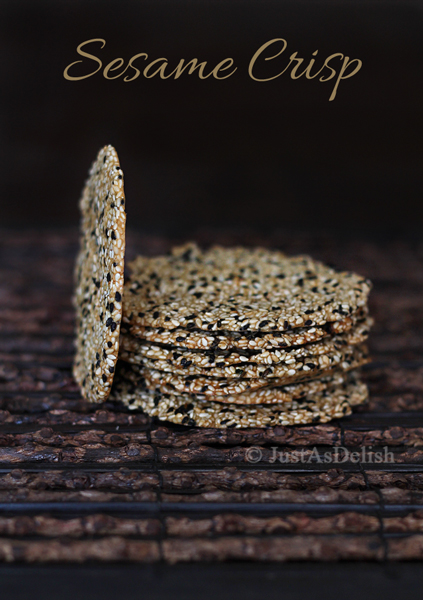Aromatic Nutty Sesame Crisp