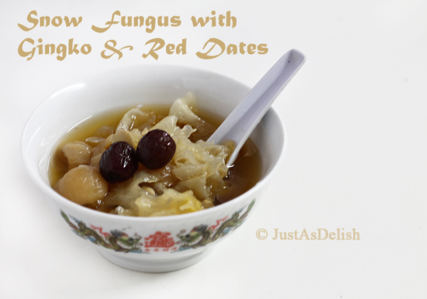 Snow Fungus with Gingko Nuts & Red Dates
