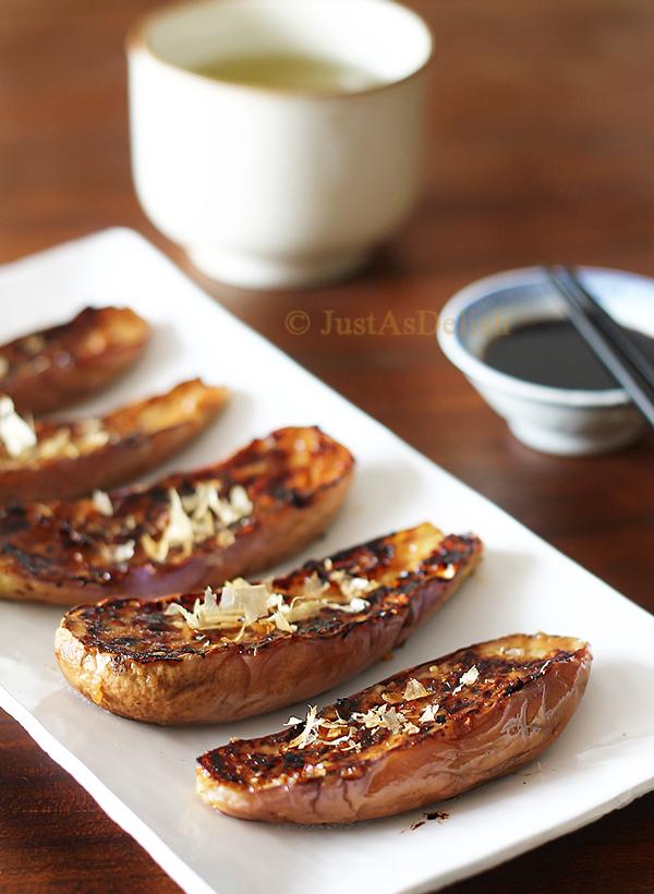 Nasu Dengaku (Grilled Miso Glazed Eggplant)