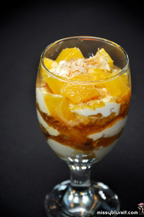 Sunkist Orange & Yogurt Parfait with Toasted Coconut