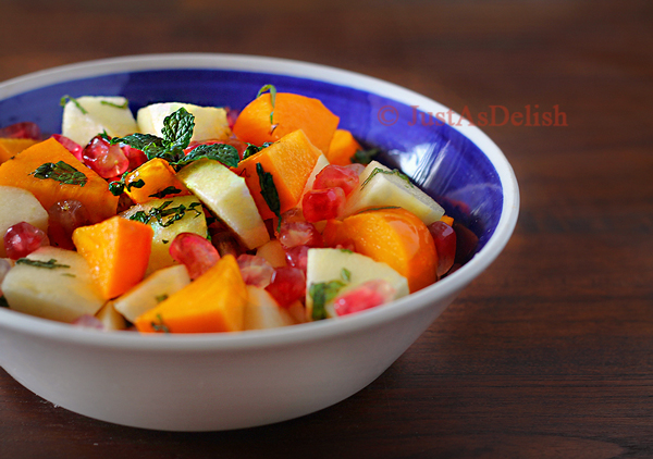 Persimmon Pomegranate Salad1