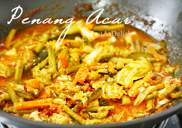 Penang Acar | Penang Achar (Penang Spicy Pickled Vegetables)