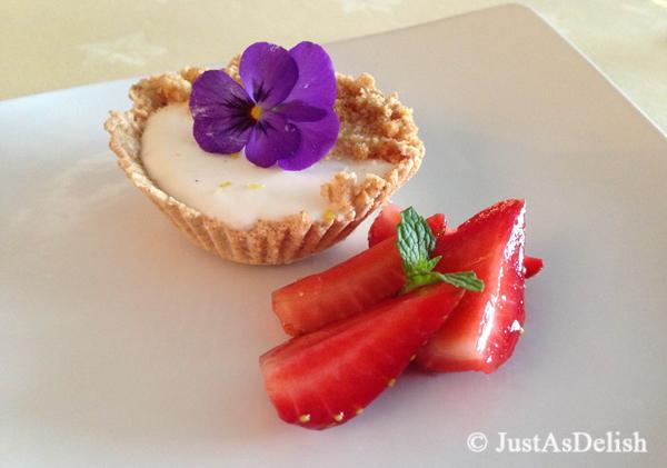 Unbaked Lemongrass Cheesecake