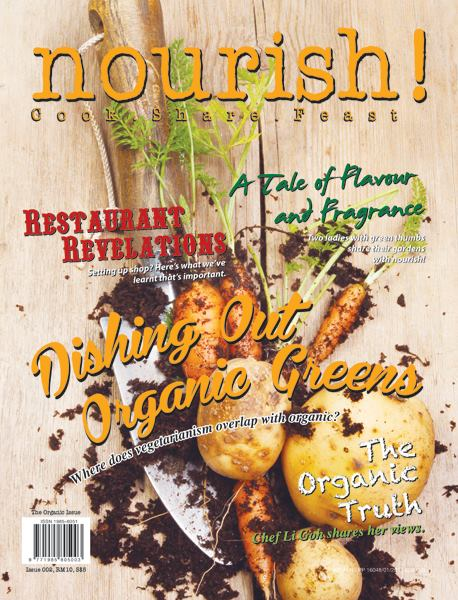 Nourish! magazine - The Organic Issue