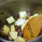 Minestrone (Vegetable Soup) for Hubs' Gout Recovery