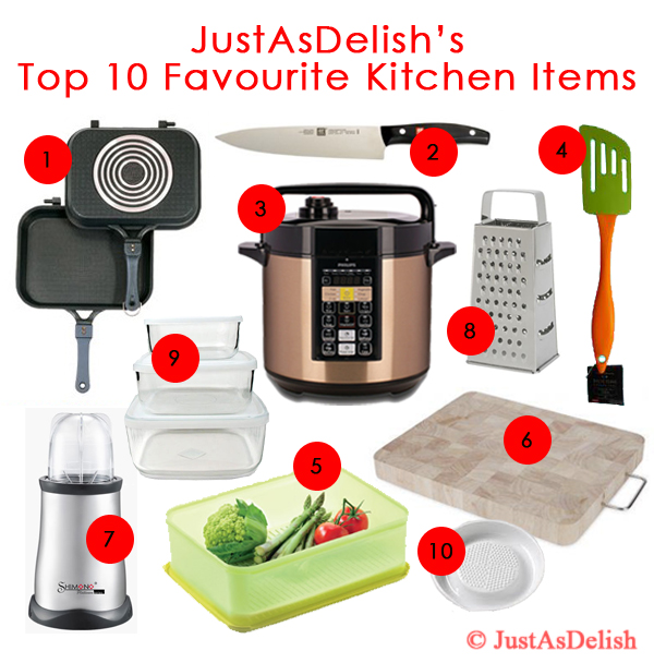 10 Favourite Kitchen (Essential & Time Saving) Items