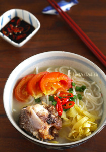 Fish Head Noodle Soup