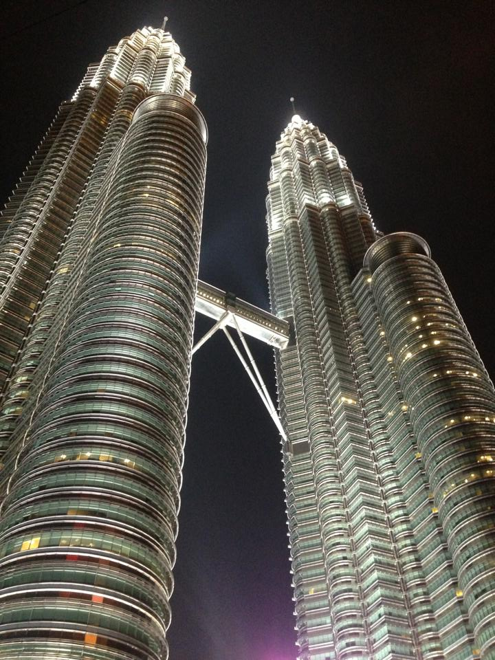 The majestic KLCC
