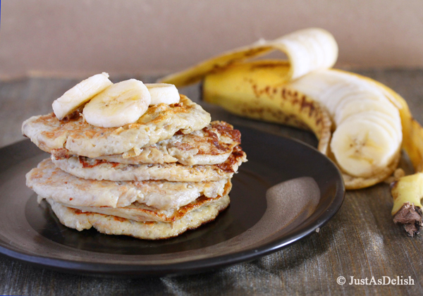 2 Ingredient Banana Pancake (Gluten, Paleo & Dairy Friendly)