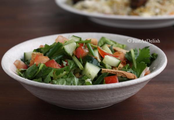 Fattoush (Bread Salad)