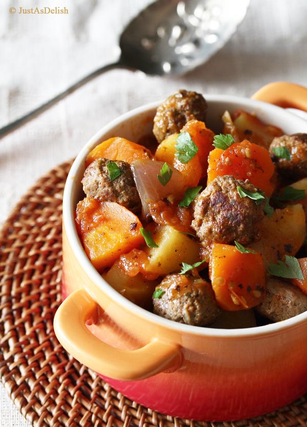 Lebanese Kafta Stew