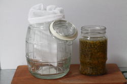 Homemade Passion Fruit Vinegar