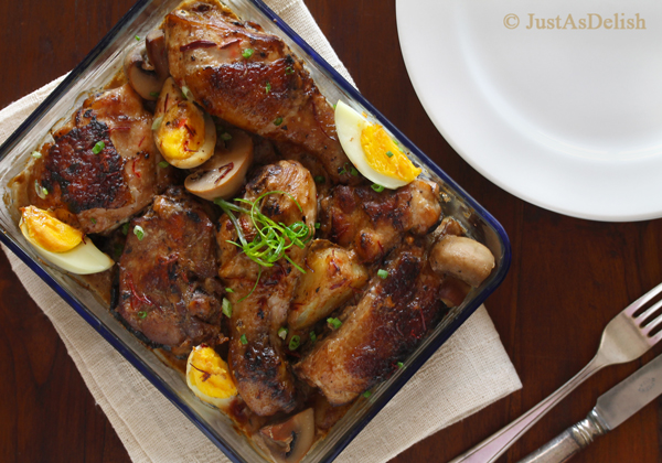 Macanese Portugese Chicken (Coconut Saffron Chicken)
