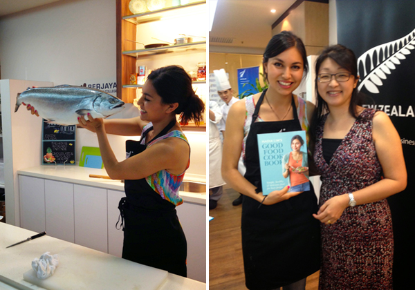 NZ CulinaryDemo with Masterchef Nadia Lim
