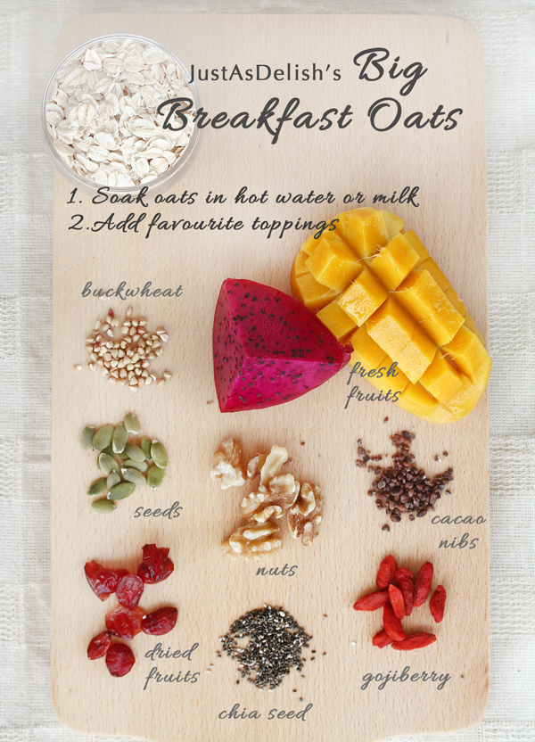 Big Breakfast Oats (Gluten Free & Dairy Free)