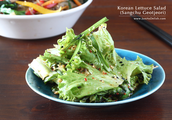 Korean Lettuce Salad