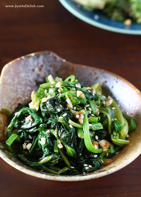Korean Spinach Banchan