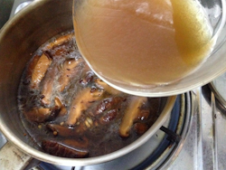 Edamame Mushroom Miso Noodle Soup