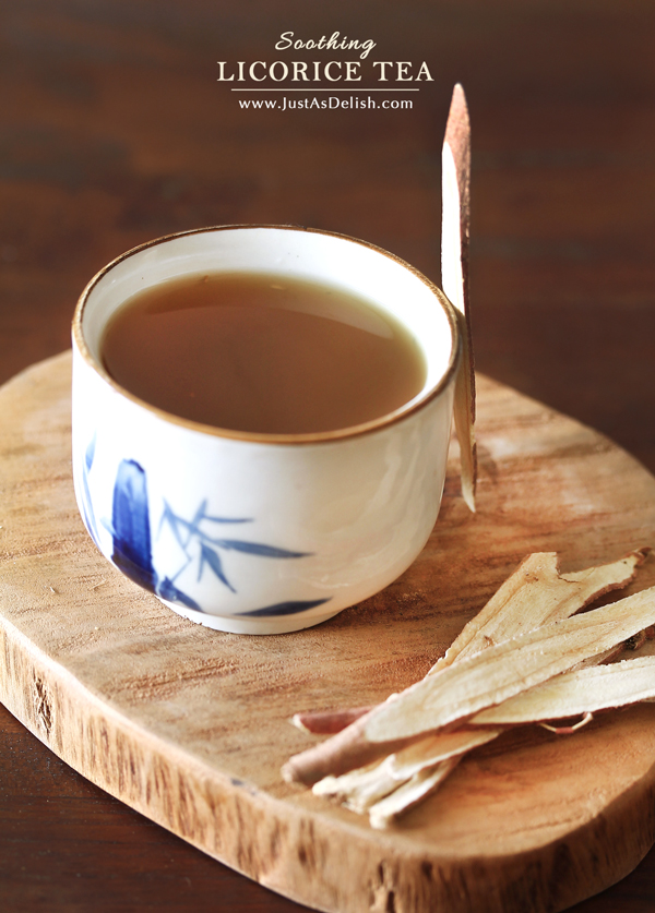 Licorice Tea | JustAsDelish.com