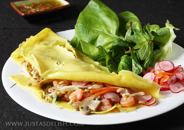 Vietnamese Crepes (Bánh Xèo)