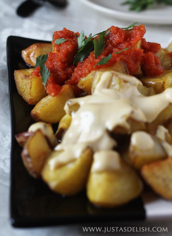 Tapas Feast - Patatas Bravas & Allioli