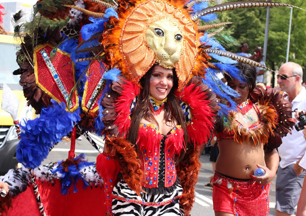 Zomercarnaval 2014 in Rotterdam