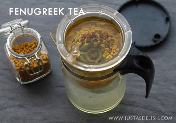 FENUGREEK TEA & Benefits