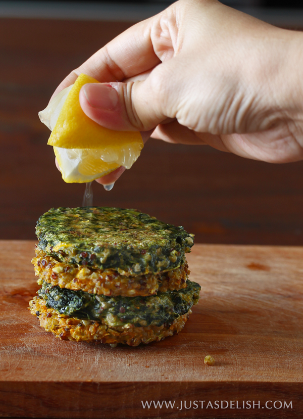 Spiced Quinoa Cakes (Grain Free & Dairy Free)