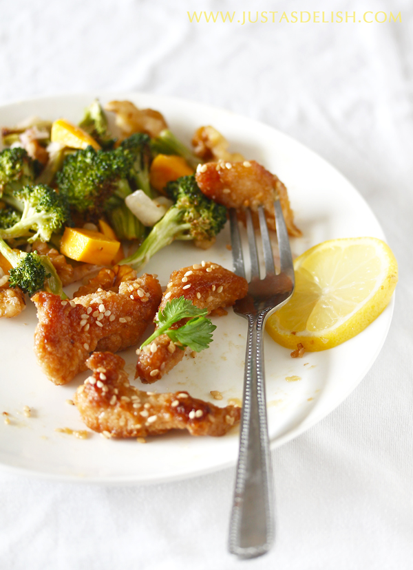Pan-fried Honey Lemon Chicken